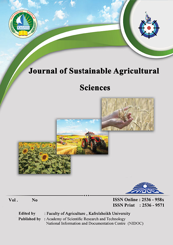 Journal of Sustainable Agricultural Sciences